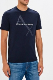 Футболка мужские Armani Exchange модель 8NZT76-Z8H4Z-1510 цена, 2017