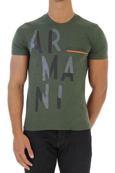 Футболка мужские Armani Exchange модель WH1944 , 2017