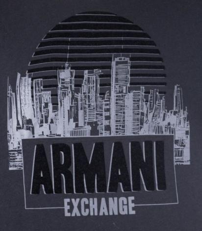 Футболка Armani Exchange модель 6ZZTEQ-ZJH4Z-1200 — фото 3 - INTERTOP