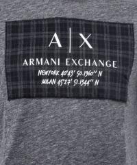 Футболка мужские Armani Exchange модель 6ZZTFX-ZJH4Z-3202 купить, 2017