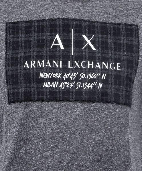Футболка мужские Armani Exchange модель WH1970 , 2017