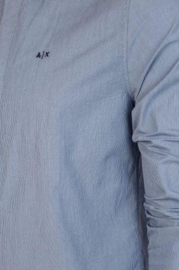 Сорочка з довгим рукавом Armani Exchange модель 3GZC34-ZNATZ-6531 — фото 3 - INTERTOP