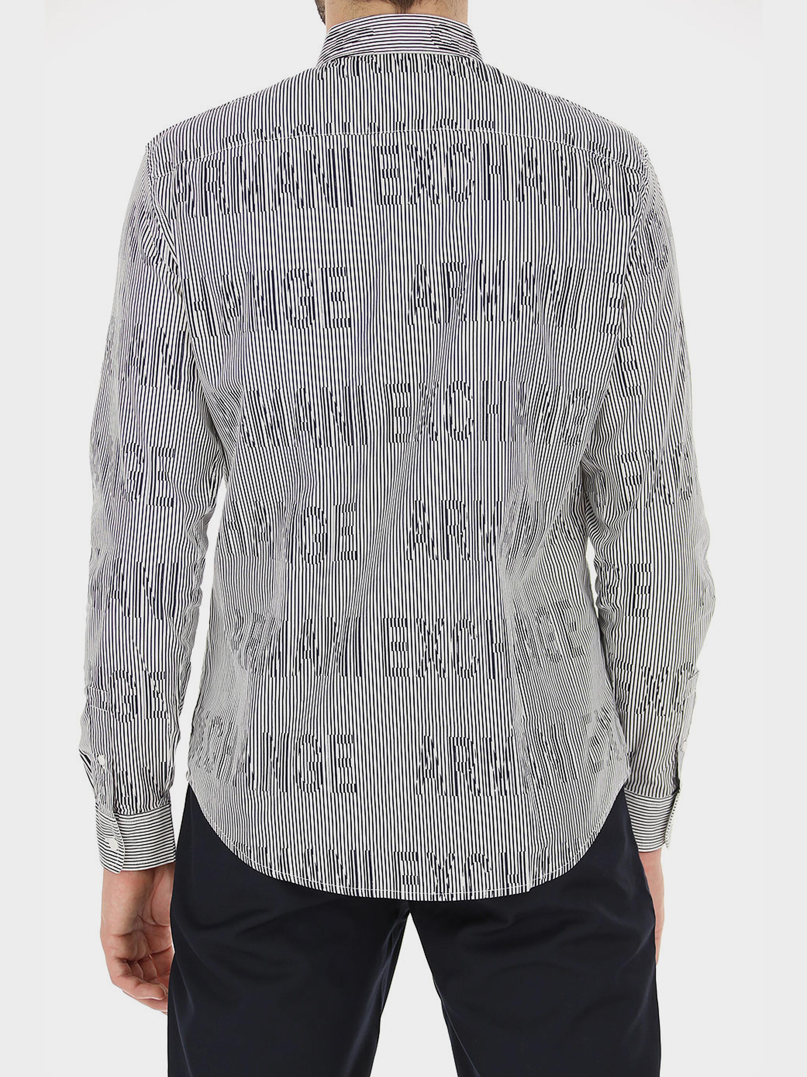 Рубашка мужские Armani Exchange модель WH2003 приобрести, 2017