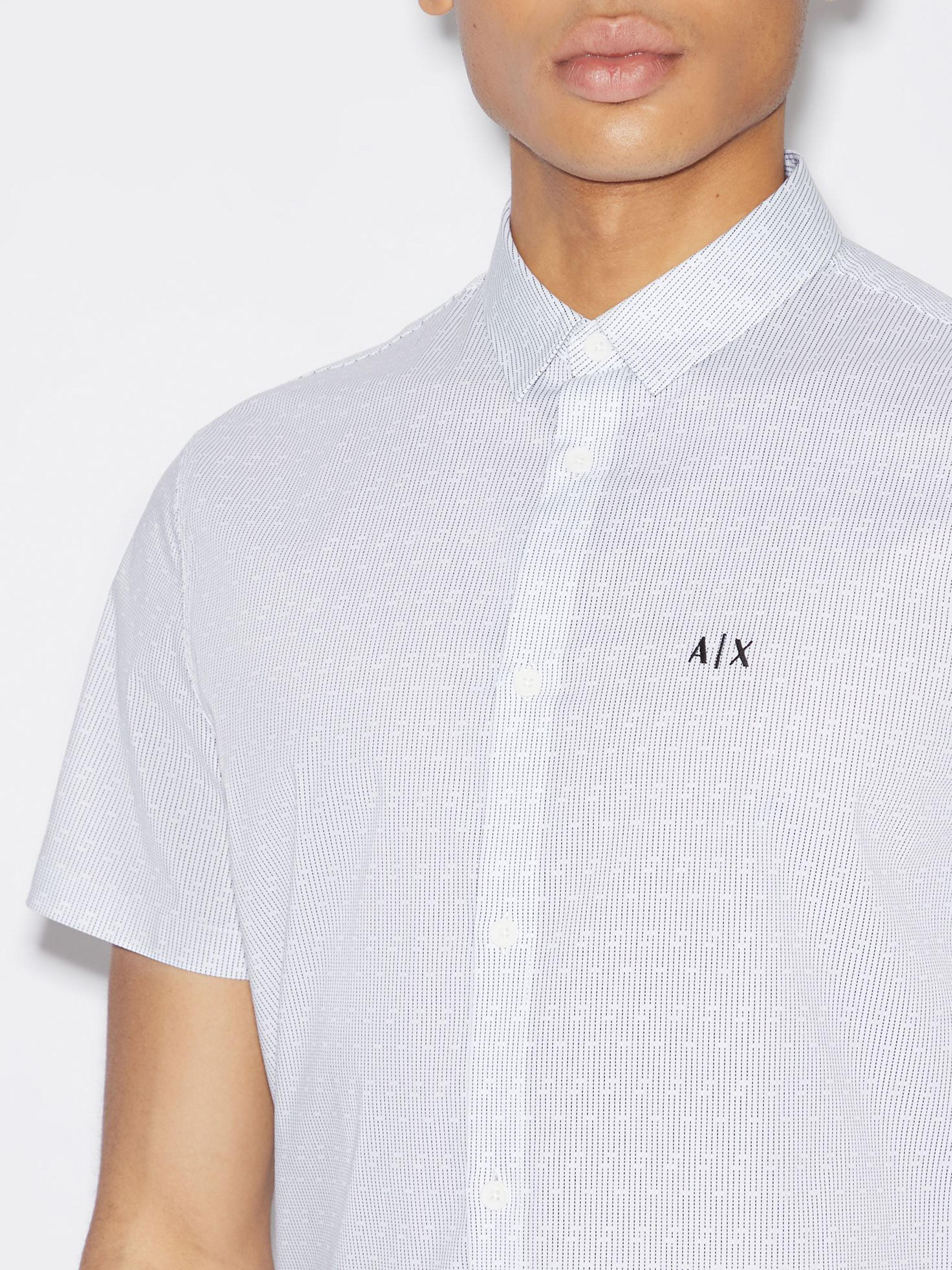 Рубашка мужские Armani Exchange модель WH2004 , 2017