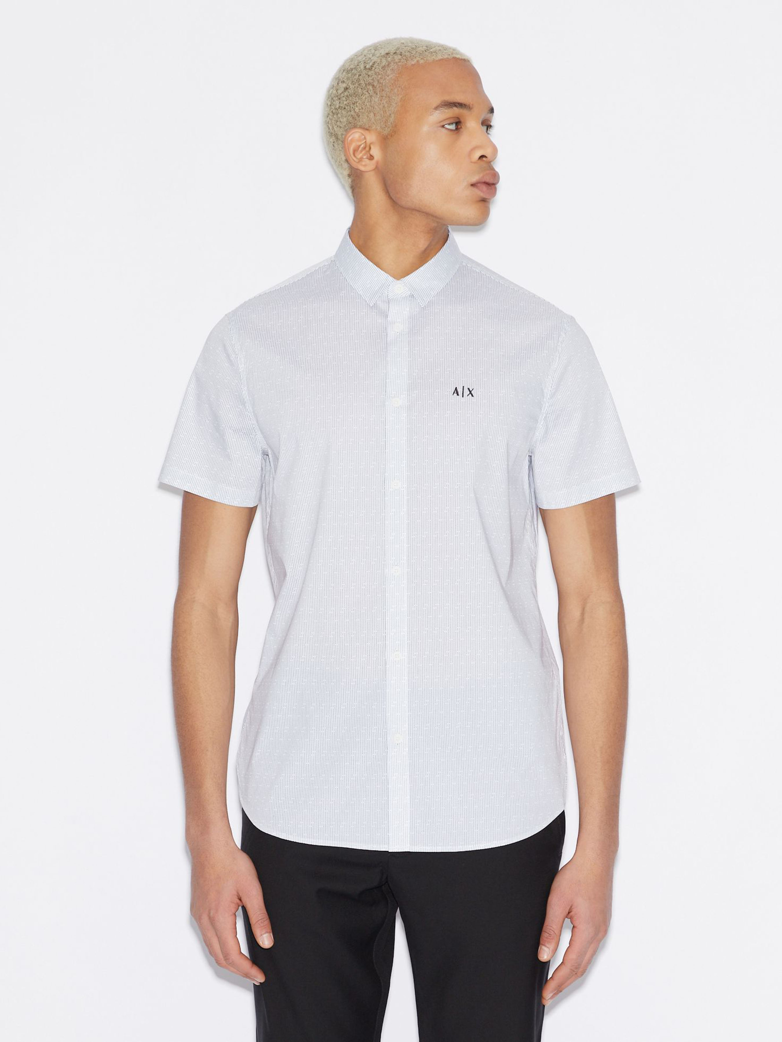 Рубашка мужские Armani Exchange модель WH2004 цена, 2017