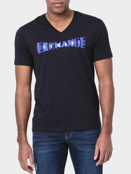 Купить Футболка мужские модель WH2060, Armani Exchange, Синий