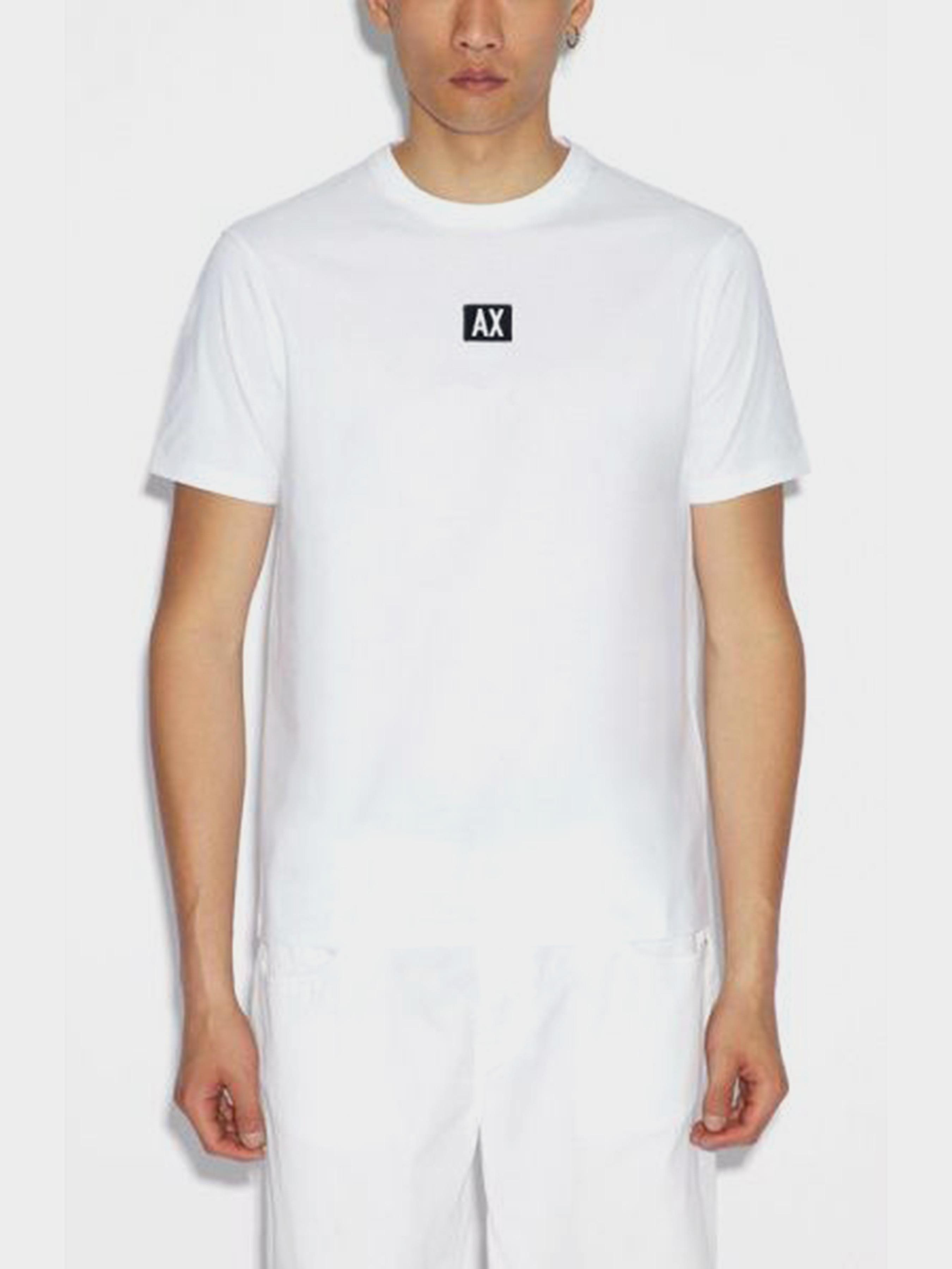 Купить Футболка мужские модель WH2096, Armani Exchange, Белый