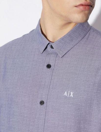 Сорочка з коротким рукавом Armani Exchange модель 3GZC64-ZNEZZ-6541 — фото 3 - INTERTOP