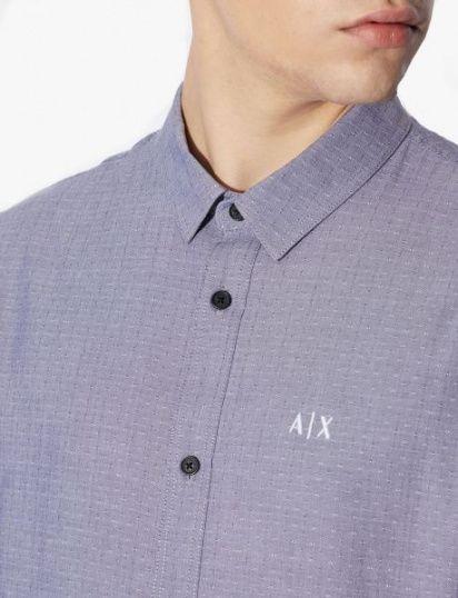 Сорочка з коротким рукавом Armani Exchange модель 3GZC64-ZNEZZ-6541 — фото 5 - INTERTOP