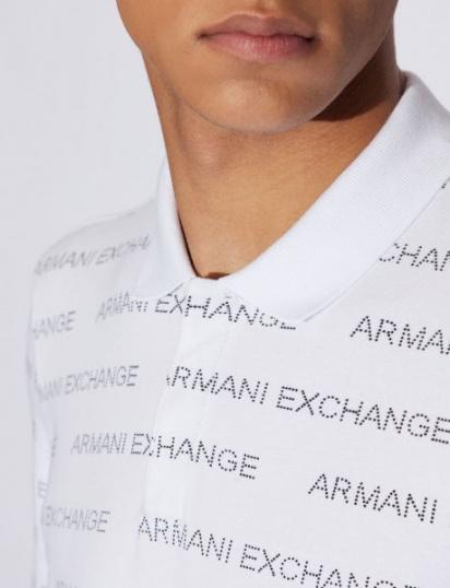 Поло Armani Exchange модель 3GZFAE-ZJU3Z-1100 — фото 5 - INTERTOP