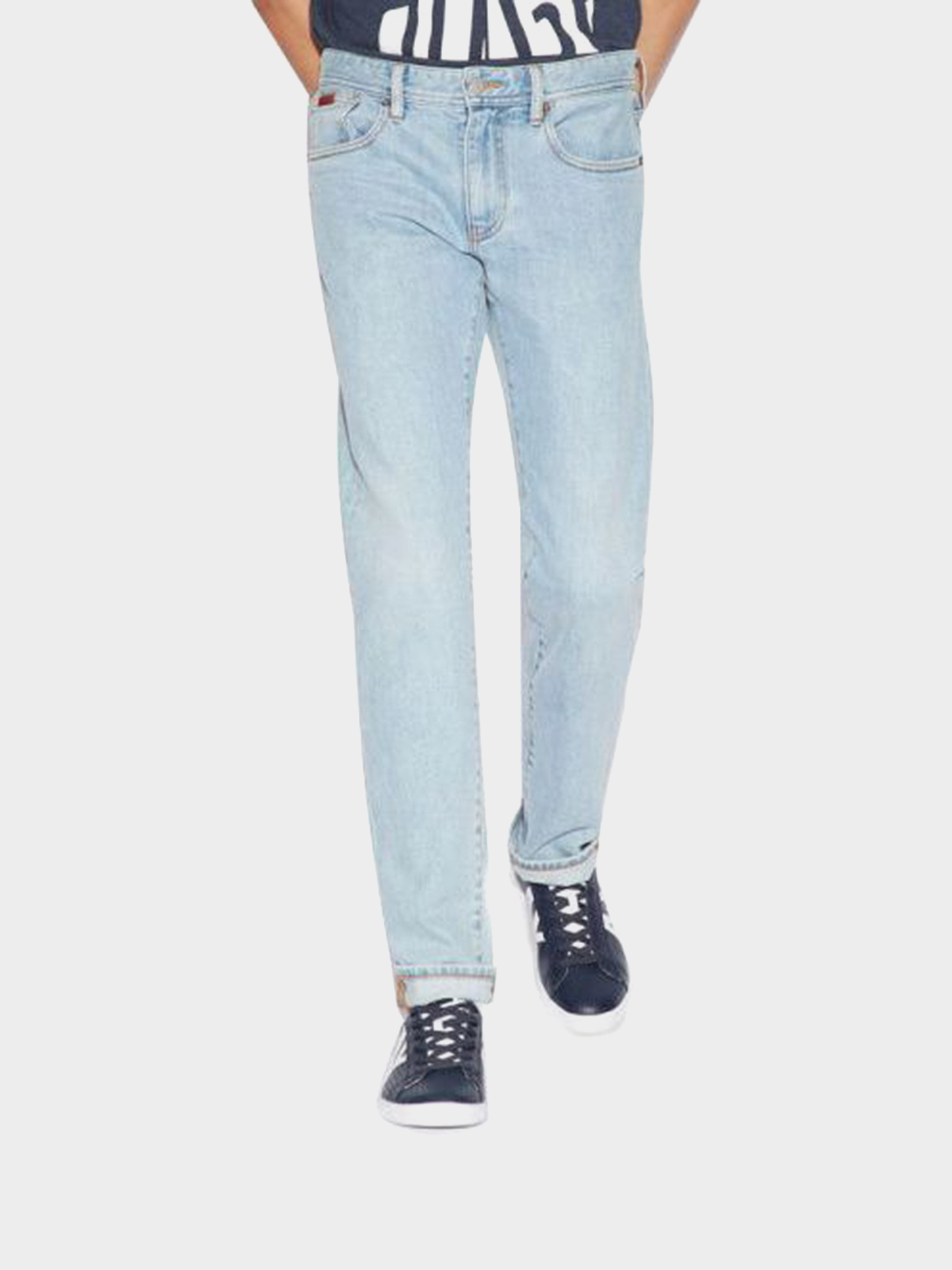Купить Джинсы мужские модель WH2139, Armani Exchange, Синий