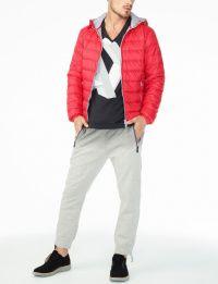 Куртка пуховая мужские Armani Exchange модель WH23 качество, 2017