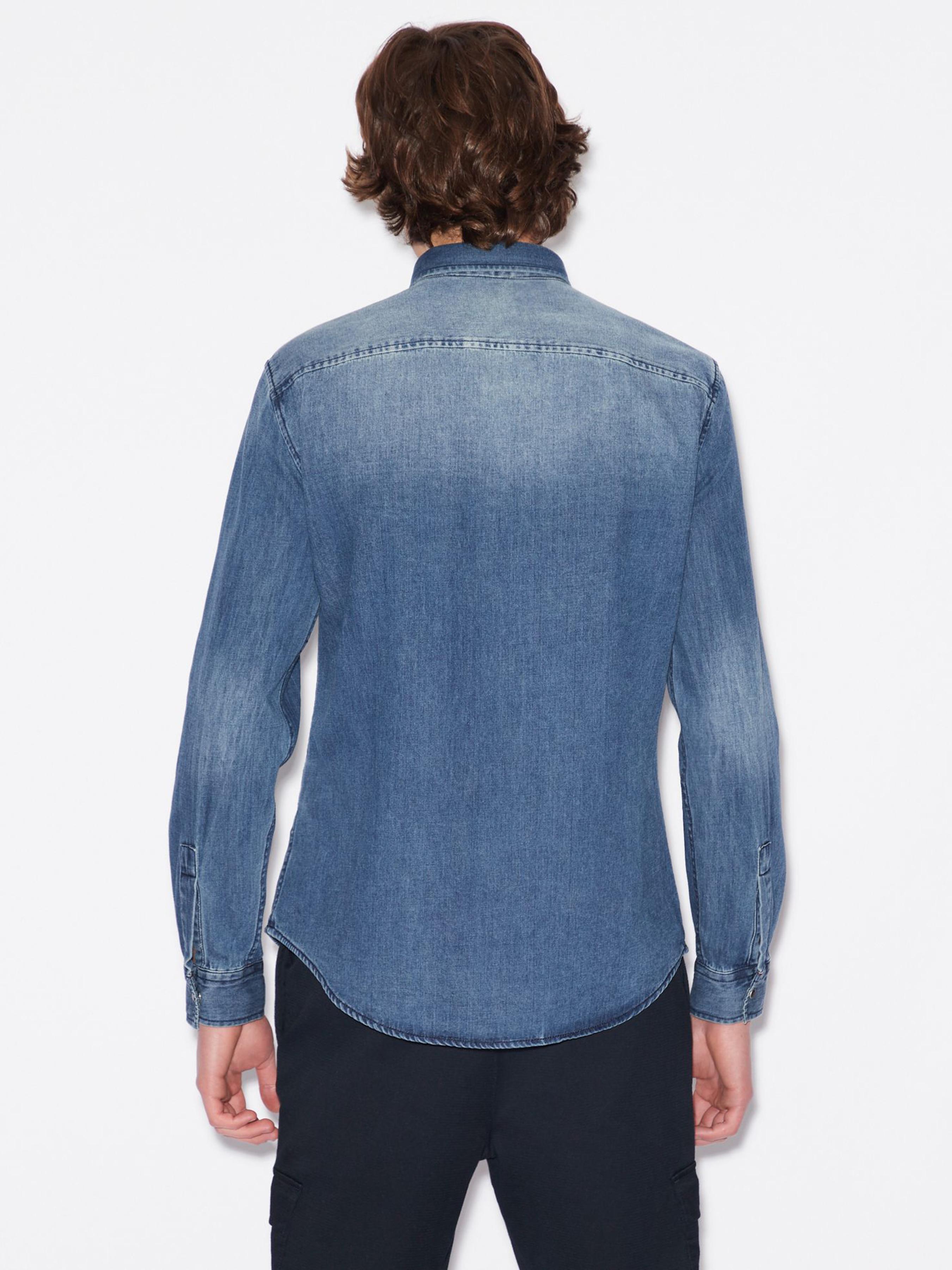Рубашка мужские Armani Exchange модель WH2426 приобрести, 2017