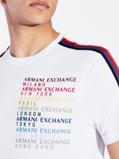 Armani Exchange Футболка чоловічі модель 6GZTCZ-ZJH4Z-1100 ціна, 2017
