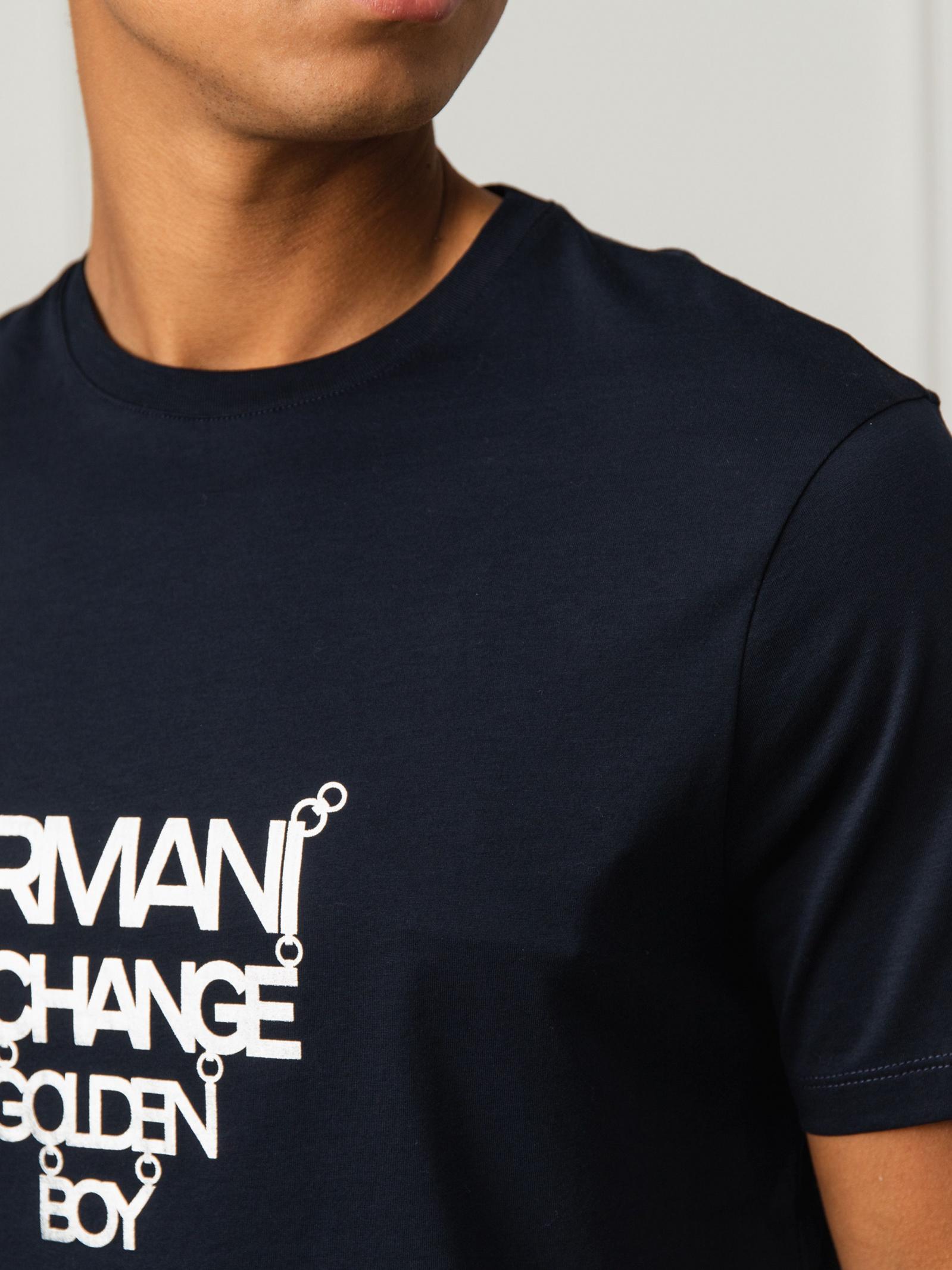Armani Exchange Футболка чоловічі модель 6GZTPA-ZJ9AZ-1583 ціна, 2017