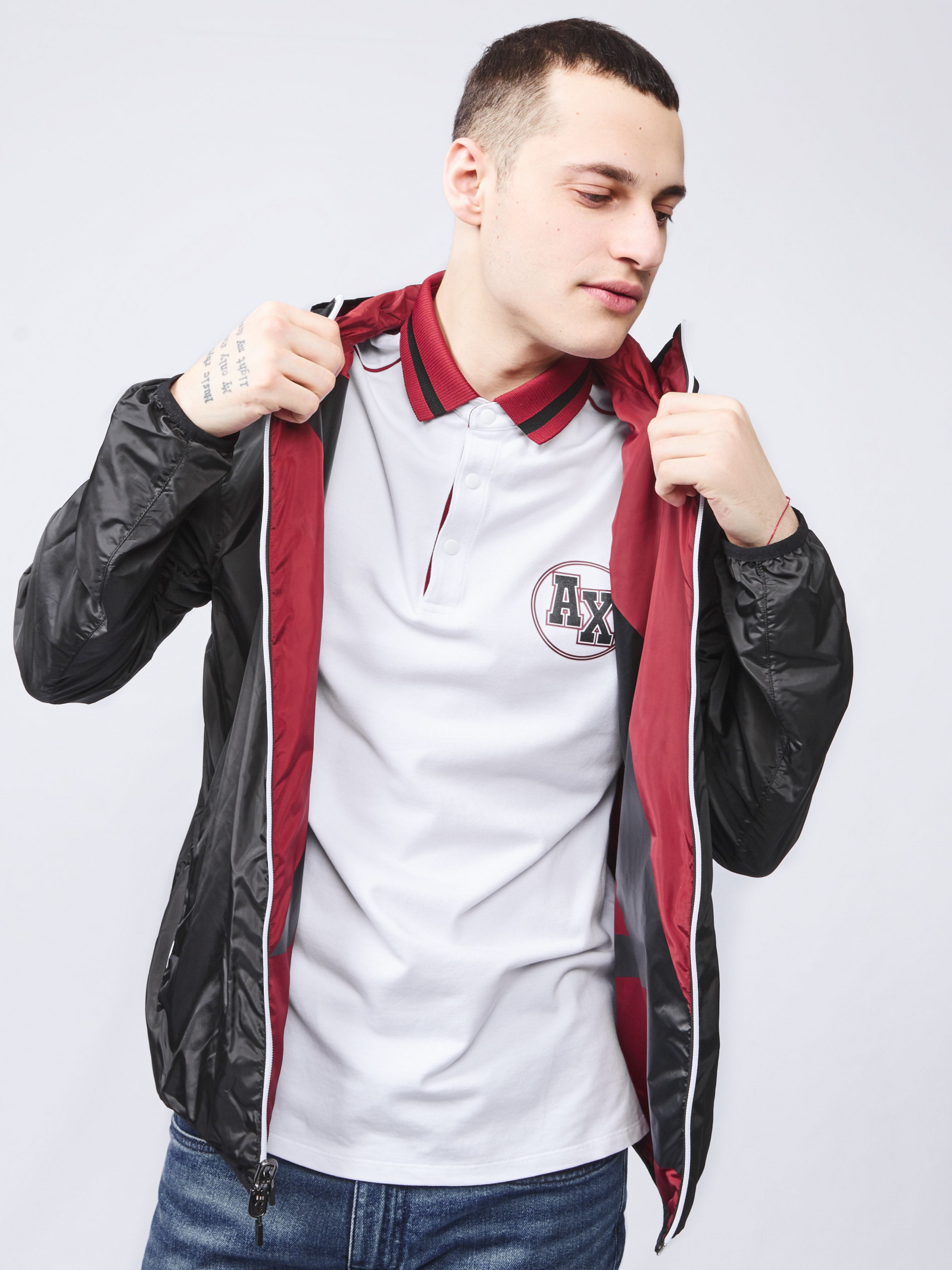 Armani Exchange Куртка чоловічі модель 3HZB21-ZNEBZ-2761 купити, 2017