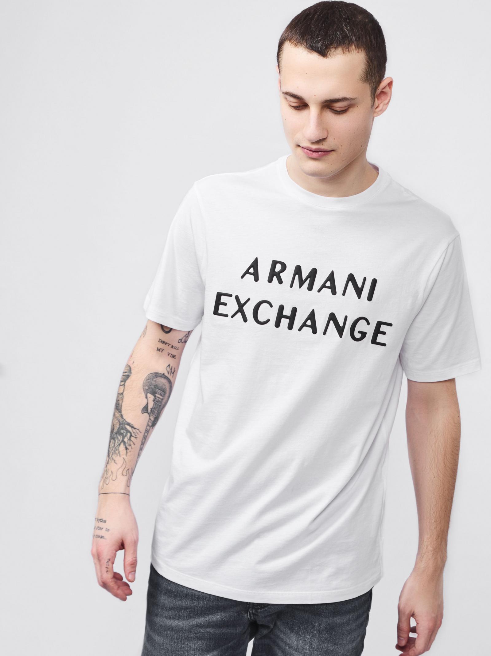 Футболка чоловіча Armani Exchange модель 3HZTFA-ZJH4Z-1100 - фото