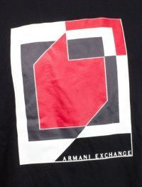 Футболка мужские Armani Exchange модель WH296 , 2017