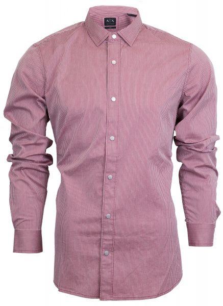 Рубашка с длинным рукавом мужские Armani Exchange WH315 примерка, 2017