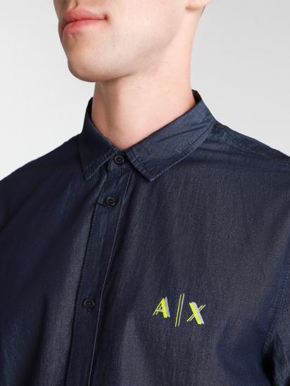 Сорочка з довгим рукавом Armani Exchange модель 3KZC07-Z1ERZ-1500 — фото 2 - INTERTOP