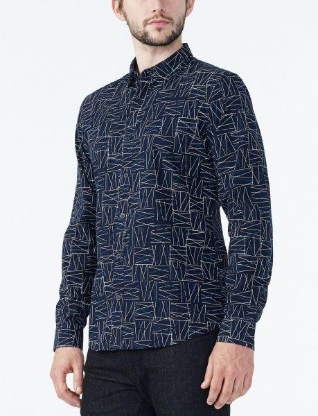 Рубашка с длинным рукавом мужские Armani Exchange модель WH36 отзывы, 2017
