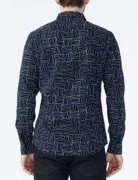 Рубашка с длинным рукавом мужские Armani Exchange модель WH36 качество, 2017