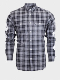 Рубашка с длинным рукавом мужские Armani Exchange модель WH42 цена, 2017