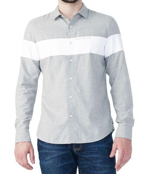 Рубашка с длинным рукавом  Armani Exchange модель WH43 , 2017
