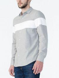 Рубашка с длинным рукавом мужские Armani Exchange модель WH43 характеристики, 2017