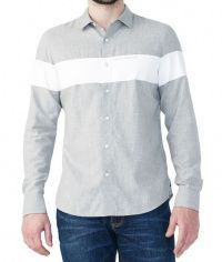 Рубашка с длинным рукавом мужские Armani Exchange модель WH43 цена, 2017