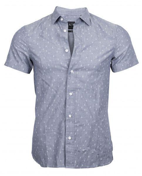 Рубашка с коротким рукавом для мужчин Armani Exchange WH436 цена, 2017