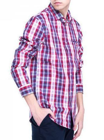 Рубашка с длинным рукавом для мужчин Armani Exchange WH439 цена, 2017