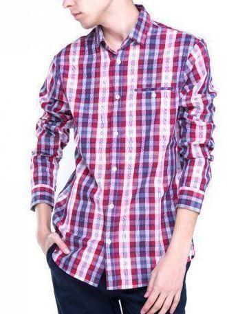 Рубашка с длинным рукавом для мужчин Armani Exchange WH439 бесплатная доставка, 2017