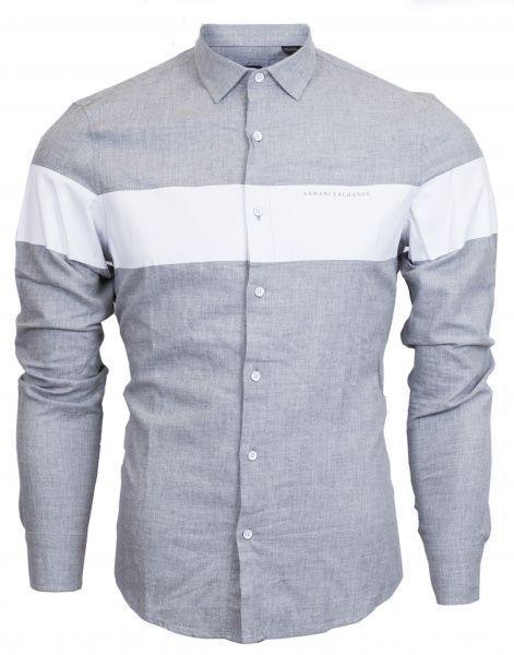 Рубашка с длинным рукавом мужские Armani Exchange WH44 цена одежды, 2017