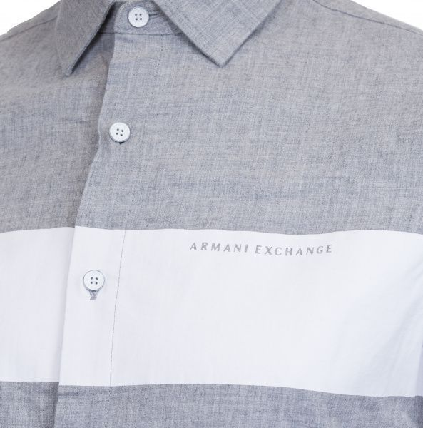 Рубашка с длинным рукавом мужские Armani Exchange WH44 купить, 2017