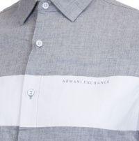 Рубашка с длинным рукавом мужские Armani Exchange модель WH44 отзывы, 2017