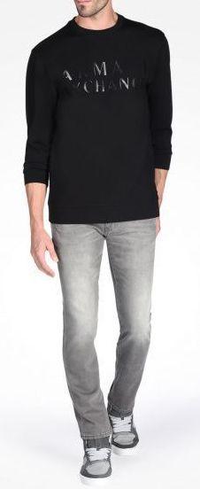 Пуловер для мужчин Armani Exchange WH493 размерная сетка одежды, 2017