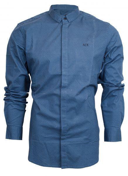 Рубашка с длинным рукавом мужские Armani Exchange модель WH53 цена, 2017