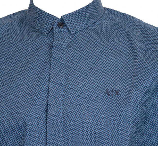 Рубашка с длинным рукавом мужские Armani Exchange модель WH53 отзывы, 2017