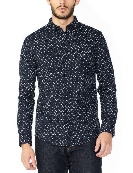 Рубашка с длинным рукавом мужские Armani Exchange модель WH55 цена, 2017