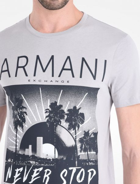 Футболка мужские Armani Exchange модель WH555 , 2017