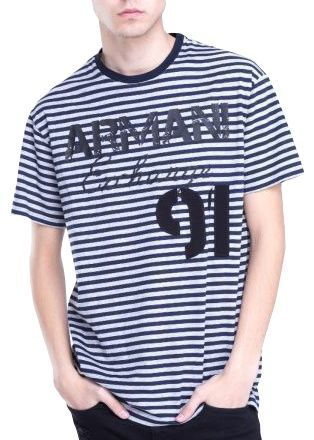 Футболка для мужчин Armani Exchange WH599 размерная сетка одежды, 2017