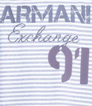 Футболка мужские Armani Exchange модель WH600 , 2017