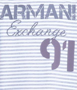 Футболка для мужчин Armani Exchange WH600 фото, купить, 2017