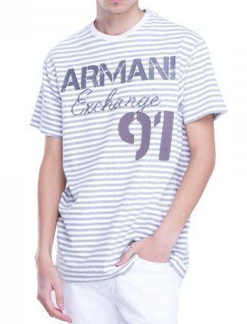 Футболка для мужчин Armani Exchange WH600 размерная сетка одежды, 2017