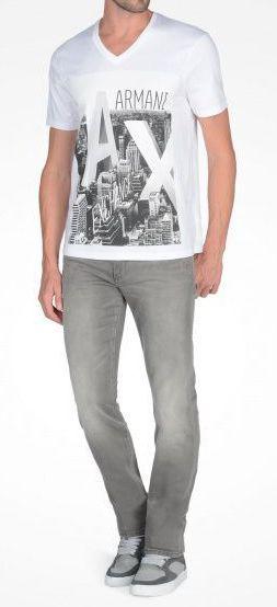 Футболка мужские Armani Exchange WH603 брендовая одежда, 2017
