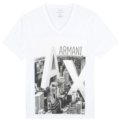 Футболка мужские Armani Exchange модель WH603 цена, 2017