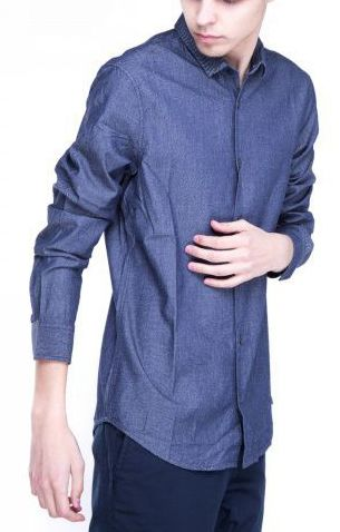 Рубашка с длинным рукавом для мужчин Armani Exchange WH632 цена, 2017