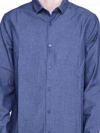 Рубашка с длинным рукавом мужские Armani Exchange модель WH632 качество, 2017