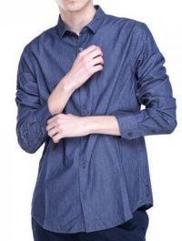 Рубашка с длинным рукавом мужские Armani Exchange модель WH632 характеристики, 2017